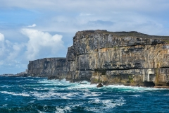 Scenic cliffs of Inishmore, Aran Islands, Ireland