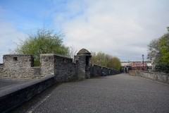Old city wall, Derry, Northern Ireland