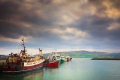 Scenic Dingle peninsula on coastal Ireland