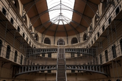 Kilmainham Gaol with Prison Cells in Dublin, Ireland