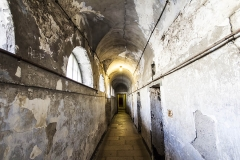 Kilmainham Gaol corridor, Dublin, Ireland