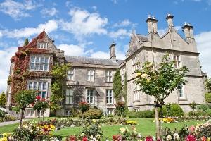 Muckross House and gardens in National Park Killarney - Ireland.