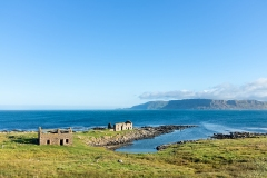 Ruins on the coast of Rathlin Island, Northern Ireland
