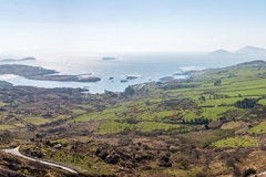 Landscape near Bray Head Country Kerry Ring of Kerry Ireland